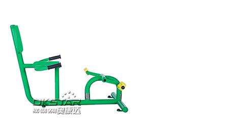 斜躺式健身车